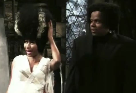 nicki snl digital short Video: Nicki Minaj Becomes Bride of Blackenstein On SNL (Skit)