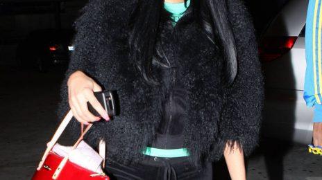 Hot Shots: Nicki Minaj Leaves NYC