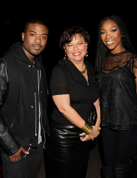 raydebbrand Hot Shot: Brandy & Ray J Attend The Game Premiere