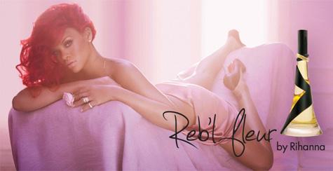 rebl fleur ad2 Rihanna Strips Down For Rebl Fleur Ad