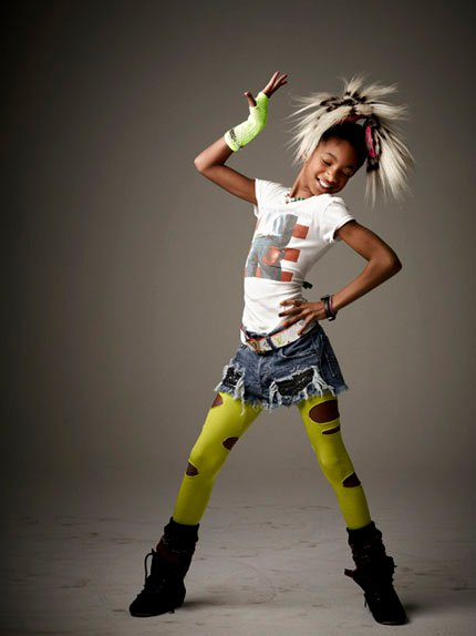 willow1 Hot Shots: Willow Smith In Vanity Fair