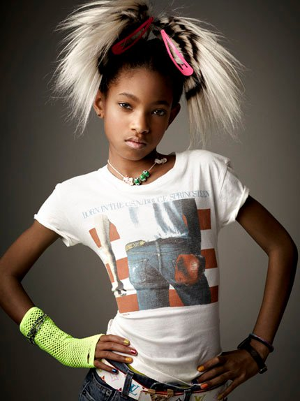 willow2 Hot Shots: Willow Smith In Vanity Fair
