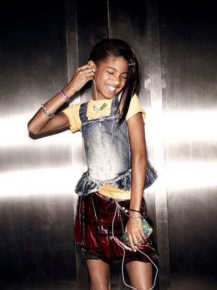 willow4 Hot Shots: Willow Smith In Vanity Fair