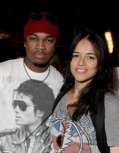 Ne-Yo & Michelle Rodriguez