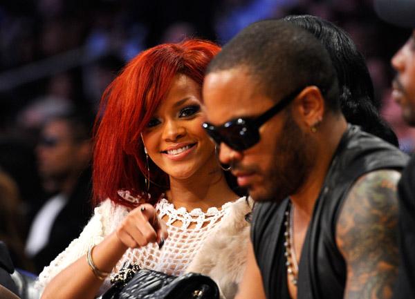 Rihanna & Lenny Kravitz
