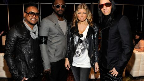 Hot Shots: The Black Eyed Peas Attend Super Bowl Halftime Show Press Conference