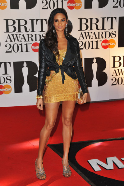 alesha dixon BRIT Awards 2011: Red Carpet