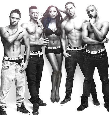 alex jls Hot Shot: JLS & Alexandra Strip Down To Their Underwear