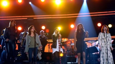 Hot Shots: Christina Aguilera, Jennifer Hudson & Others Rehearse For Grammy Performance