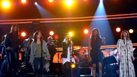 Hot Shots: Christina Aguilera, Jennifer Hudson & Others Rehearse For Grammy Performance