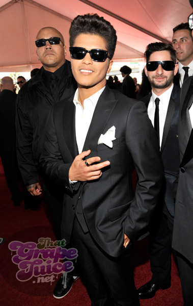 bruno mars grammy Grammy Awards 2011: Red Carpet