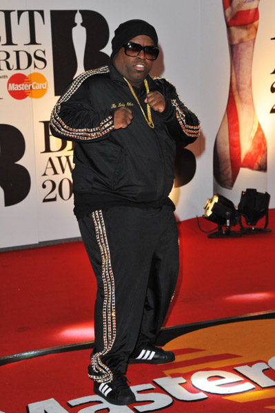 ceelo BRIT Awards 2011: Red Carpet
