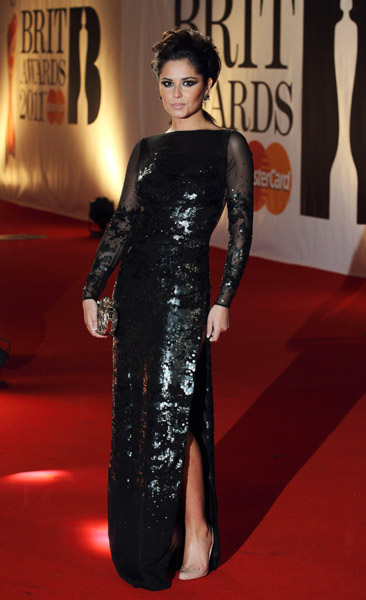 cheryl cole BRIT Awards 2011: Red Carpet