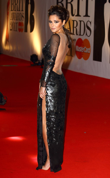 cheryl cole1 BRIT Awards 2011: Red Carpet