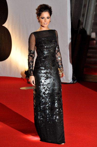 cheryl cole2 BRIT Awards 2011: Red Carpet