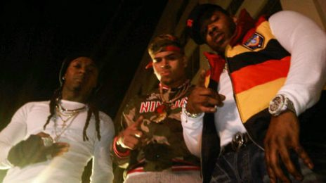 Hot Shots: Chris Brown Films 'Look At Me Now' Video