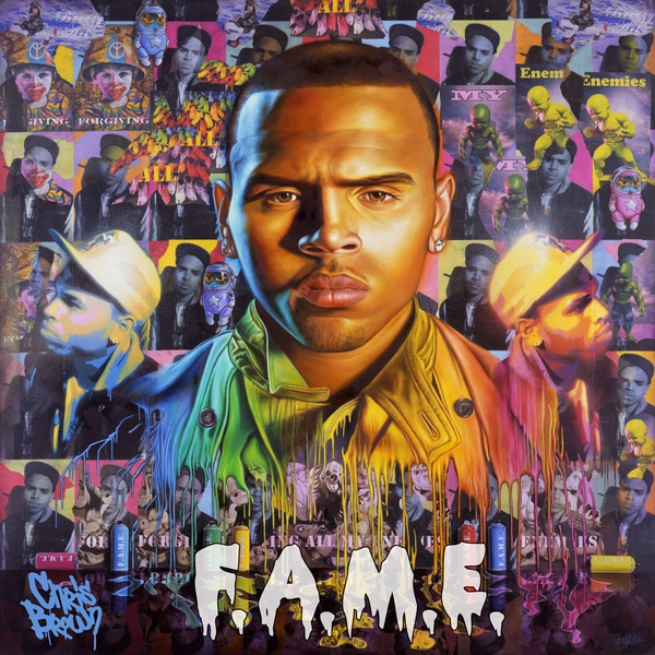Chris Brown has finally revealed the official album cover of his