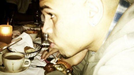 Hot Shot: Chris Brown Debuts Blonde Hair Do'