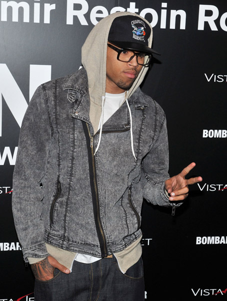 chrisbrown31 Hot Shots: Chris Brown Says Hallelujah In New York