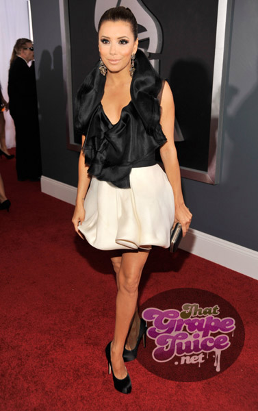 eva longoria grammy1 Grammy Awards 2011: Red Carpet
