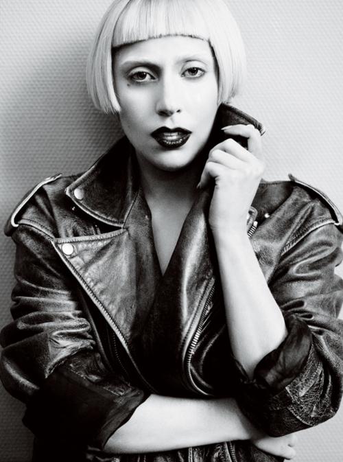 gaga2 Lady GaGas Vogue Shoot; 2nd Born This Way Single Announced