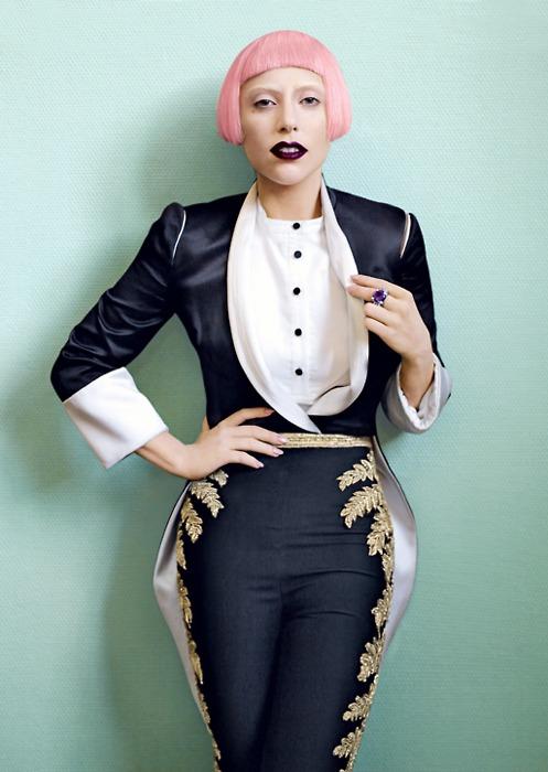 gaga5 Lady GaGas Vogue Shoot; 2nd Born This Way Single Announced