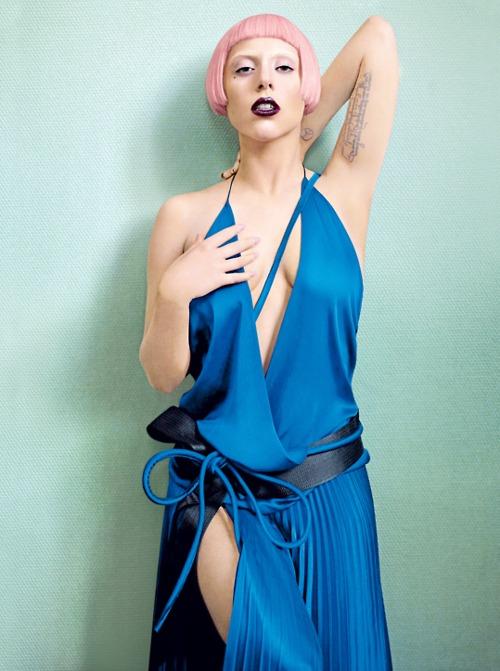 gaga6 Lady GaGas Vogue Shoot; 2nd Born This Way Single Announced