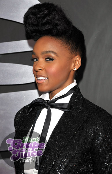 janelle grammy12 Grammy Awards 2011: Red Carpet