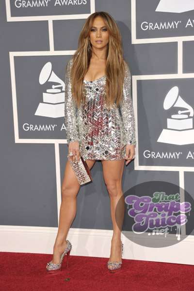 jennifer lopez 12 Grammy Awards 2011: Red Carpet