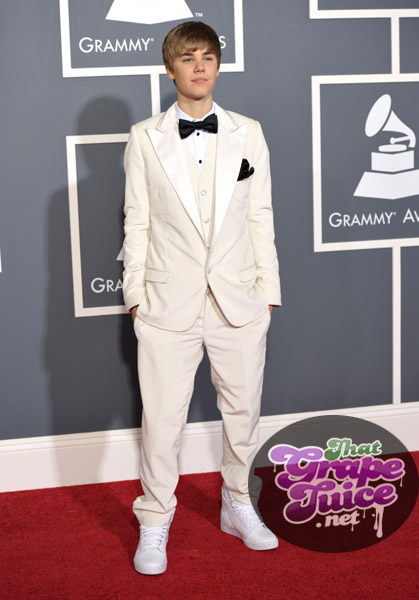 justin bieber Grammy Awards 2011: Red Carpet