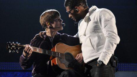 Hot Shots: Usher, Justin Bieber & Jaden Smith Rehearse For The Grammy Awards