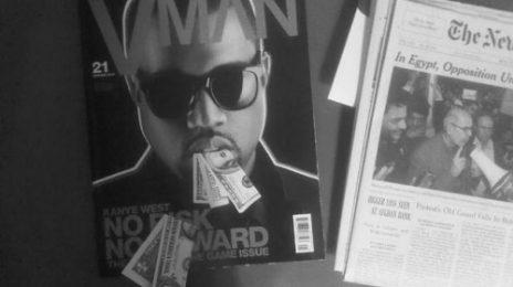 Hot Shot: Kanye West Covers VMAN