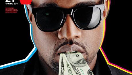 Hot Shots: Kanye West's Full V MAN Spread