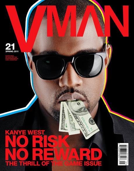 kanyewest4 Hot Shots: Kanye Wests Full V MAN Spread