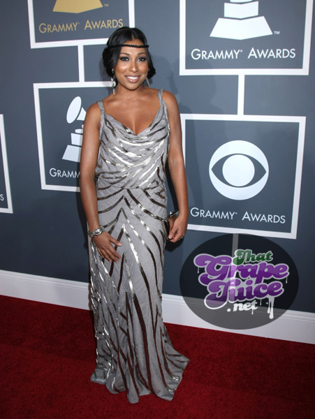 melanie fiona grammy 12 Grammy Awards 2011: Red Carpet