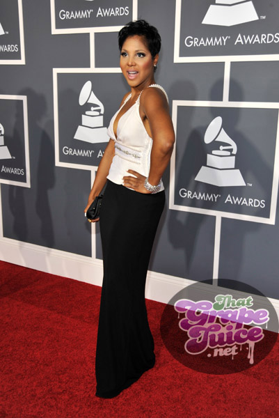 toni braxton grammy1 Grammy Awards 2011: Red Carpet