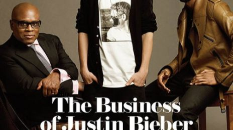 Justin Bieber & Usher Cover The Hollywood Reporter
