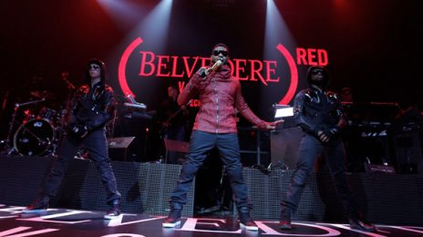 Hot Shots: Usher Goes Red With BELVEDERE