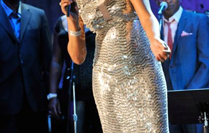 Whitney Houston Performs At Clive Davis' Pre-Grammy Party