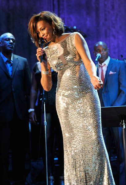 whitney abc Hot Shots: Whitney, R. Kelly, Janelle Monae & More Shine On Pre Grammy Stage
