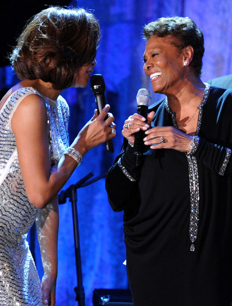whitney cli Hot Shots: Whitney, R. Kelly, Janelle Monae & More Shine On Pre Grammy Stage