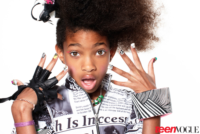 willow Hot Shots: Willow Smith In Teen Vogue