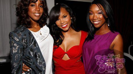 Hot Shots: Kelly Rowland & Brandy Celebrate LeToya Luckett's Birthday