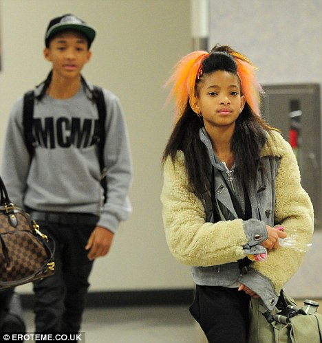 Willow and Jaden thatgrapejuice