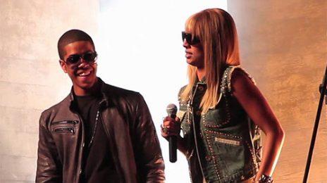 Behind The Scenes: Chipmunk & Keri Hilson's 'In The Air' Video