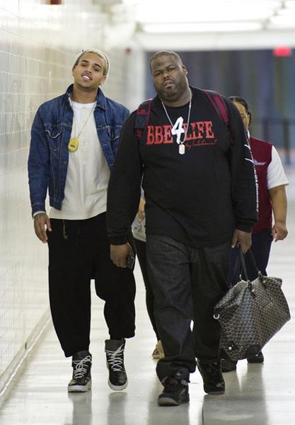 chrisbrown39 Hot Shots: Chris Brown Arrives At LAX
