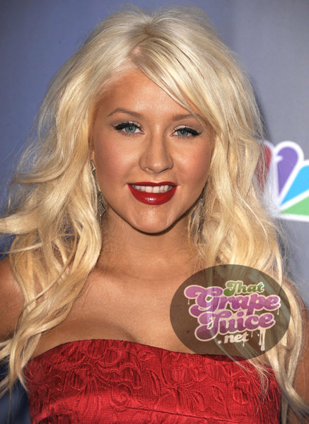 christinaaguilera1 Hot Shots: Christina Aguilera Attends NBCs The Voice Press Conference