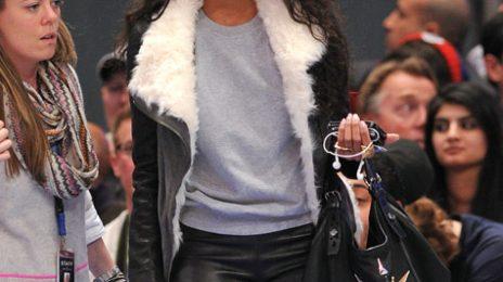 Hot Shots: Ciara & LaLa Kick It Court-Side