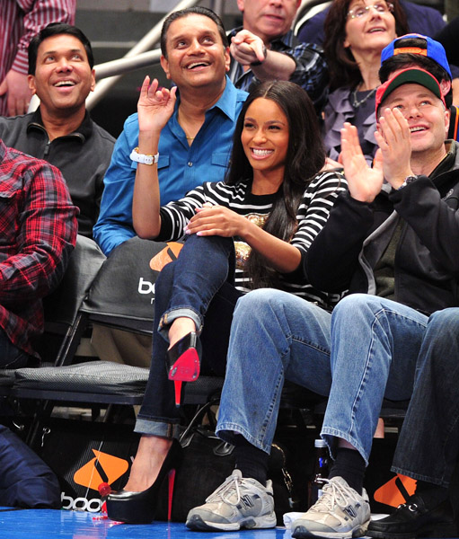 ciara Hot Shots: Ciara & Ne Yo Attend Pacers Vs Knicks Game