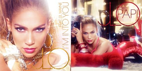 intopapi Jennifer Lopez Reveals Im Into You (Ft. Lil Wayne) & Papi Single Covers